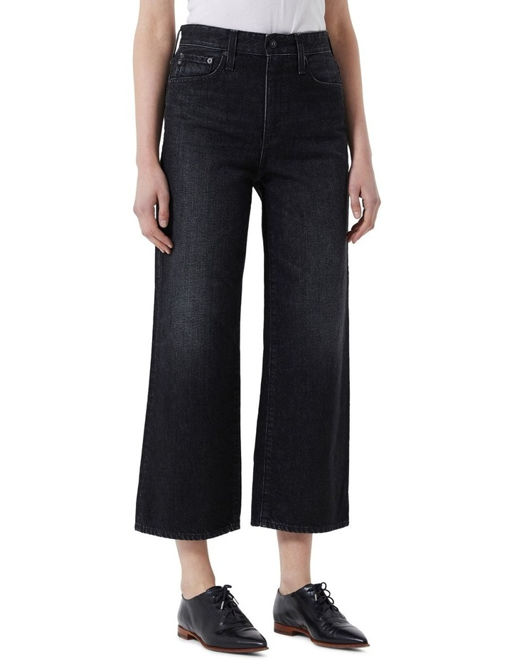 Etta - High Waist Wide Leg Crop Jeans image 1