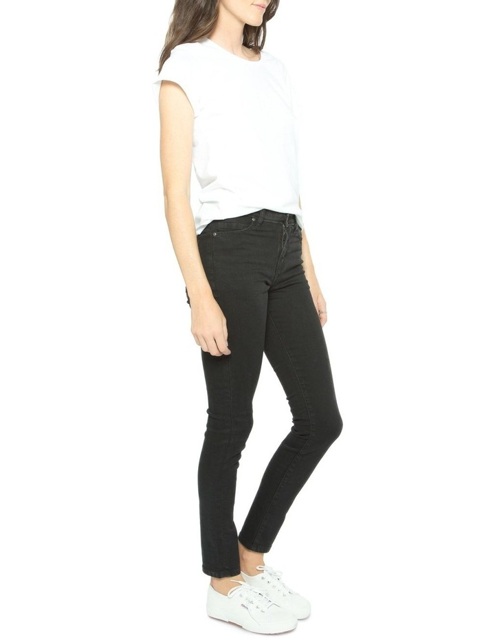 Isabel - Mid Rise Skinny Jeans image 1