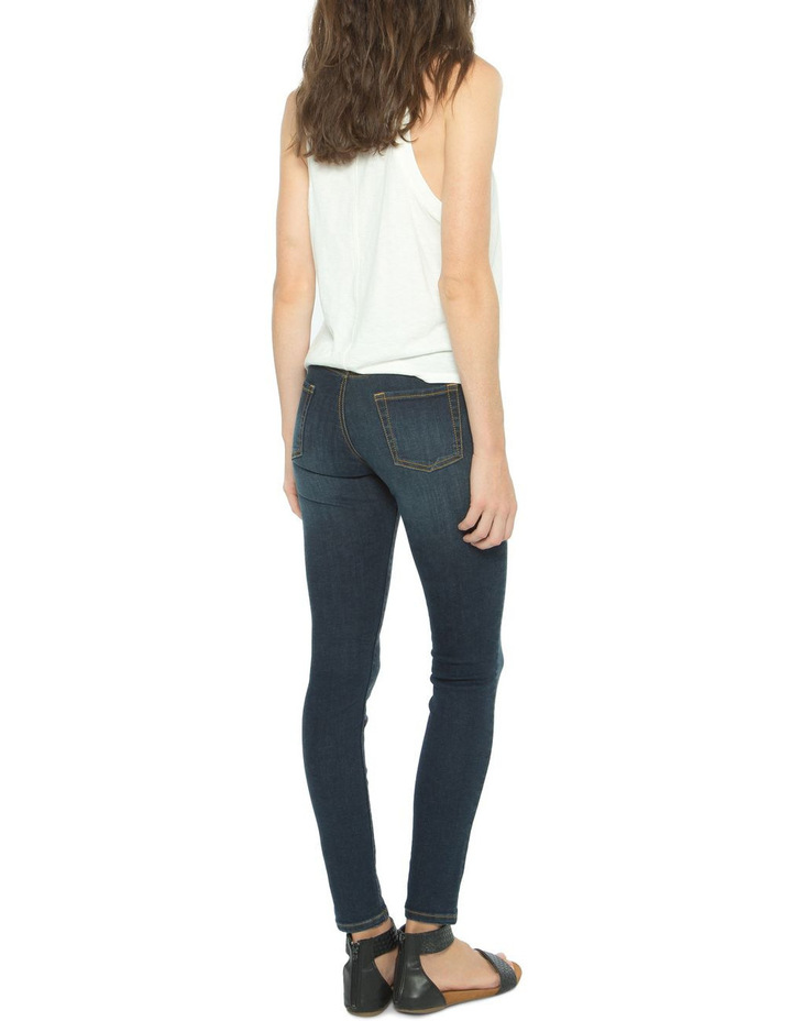 Isabel - Mid Rise Skinny Jeans image 2