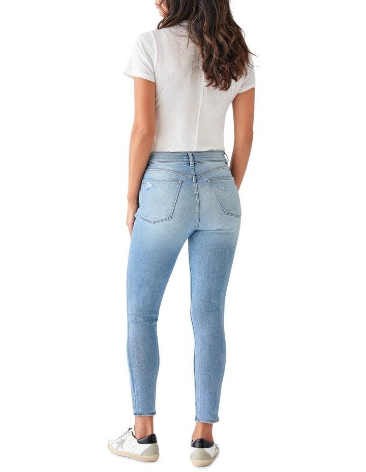 Farrow Crop Mid Rise Instasculpt Skinny Jeans image 2