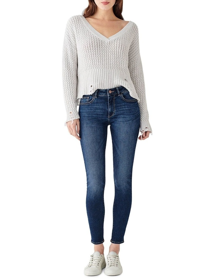 Florence Mid Rise Instasculpt Skinny Ankle Jeans image 1