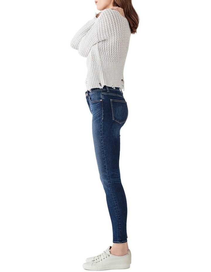 Florence Mid Rise Instasculpt Skinny Ankle Jeans image 2