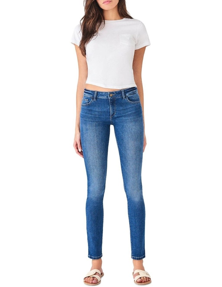 Florence Mid Rise Instasculpt Skinny Jeans image 1