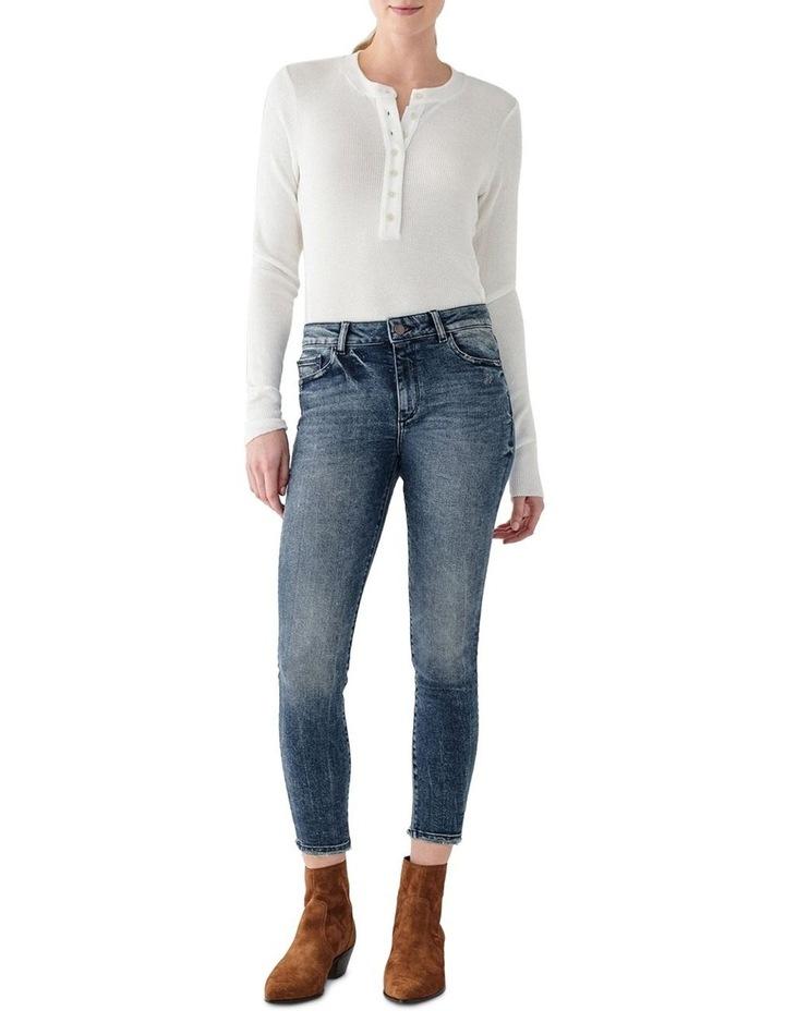 Florence Crop Mid Rise Skinny Jean image 1