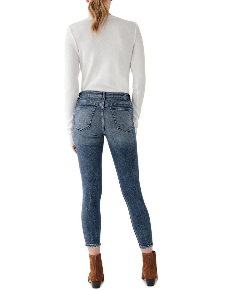Florence Crop Mid Rise Skinny Jean image 2