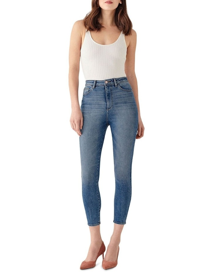 Chrissy Crop: Ultra High Rise Jean image 1
