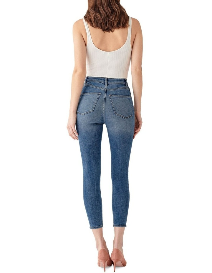 Chrissy Crop: Ultra High Rise Jean image 3