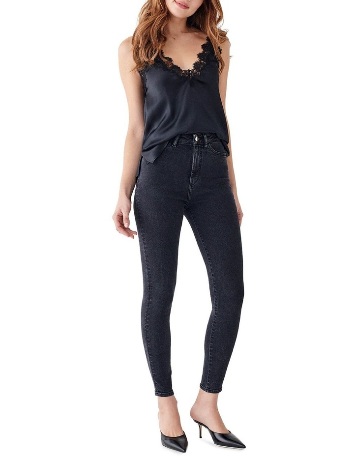 Chrissy Ankle: Ultra High Rise Skinny Jean image 1