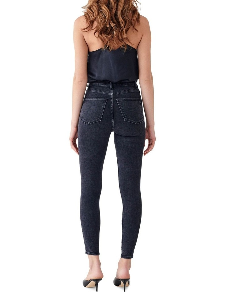 Chrissy Ankle: Ultra High Rise Skinny Jean image 2