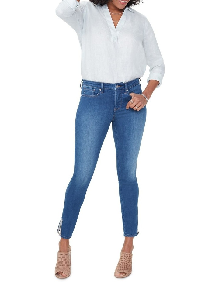 Ami Ankle Multi Tape Detail Jeans image 1