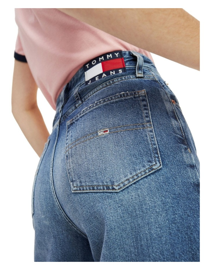 High Rise Tapered Mom Jeans image 3