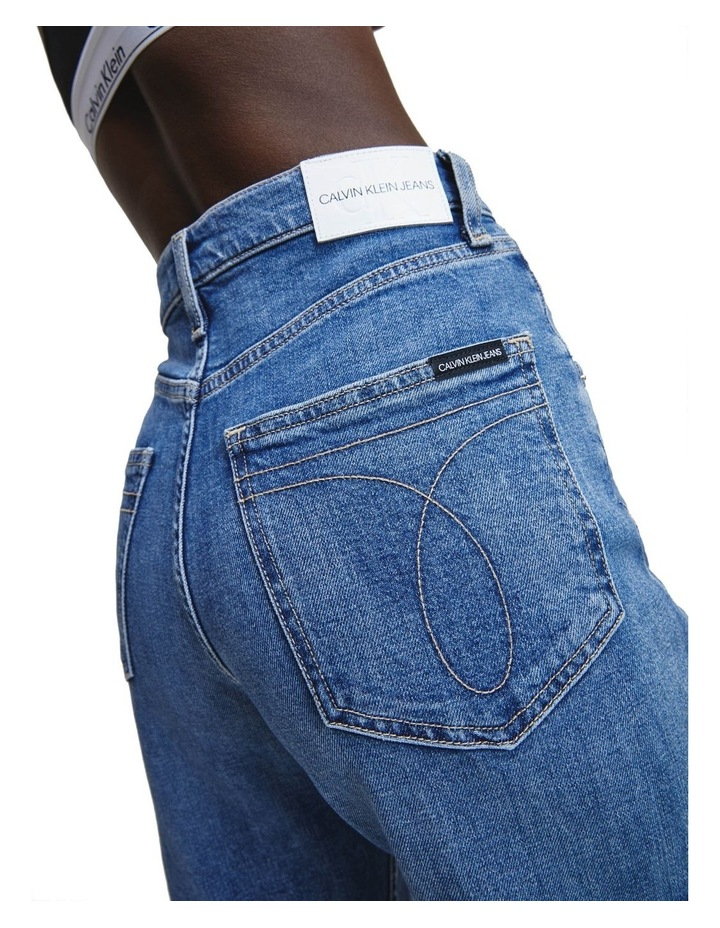 Super High Rise Wide Leg Crop Jean image 4