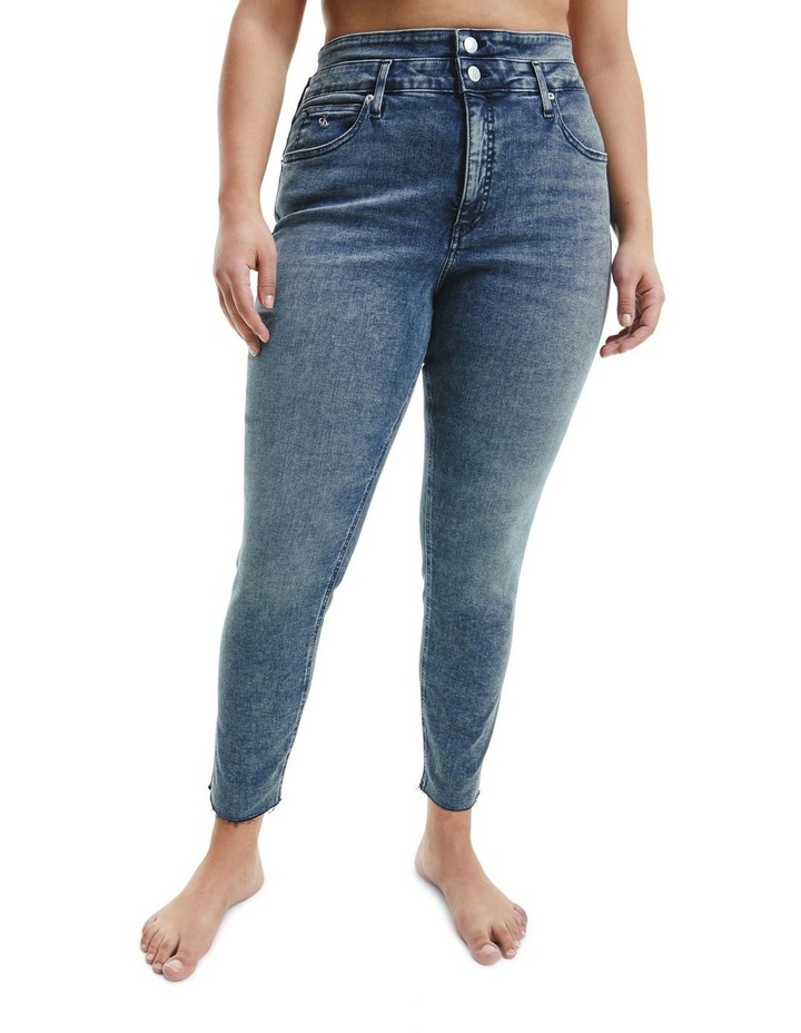 High Rise Skinny Ankle Jean image 1