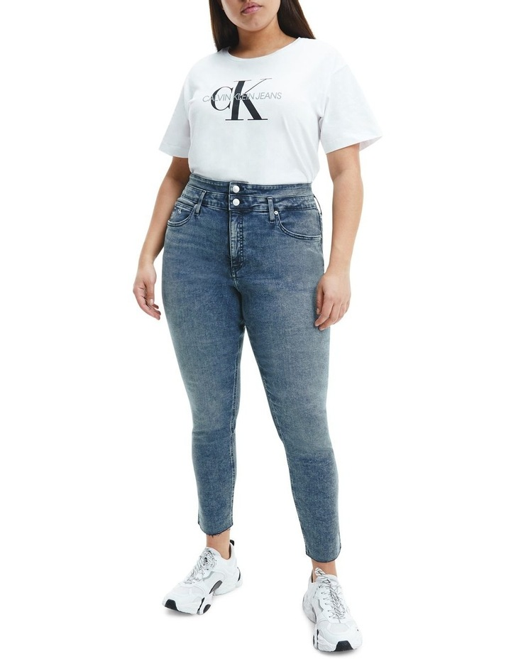 High Rise Skinny Ankle Jean image 5