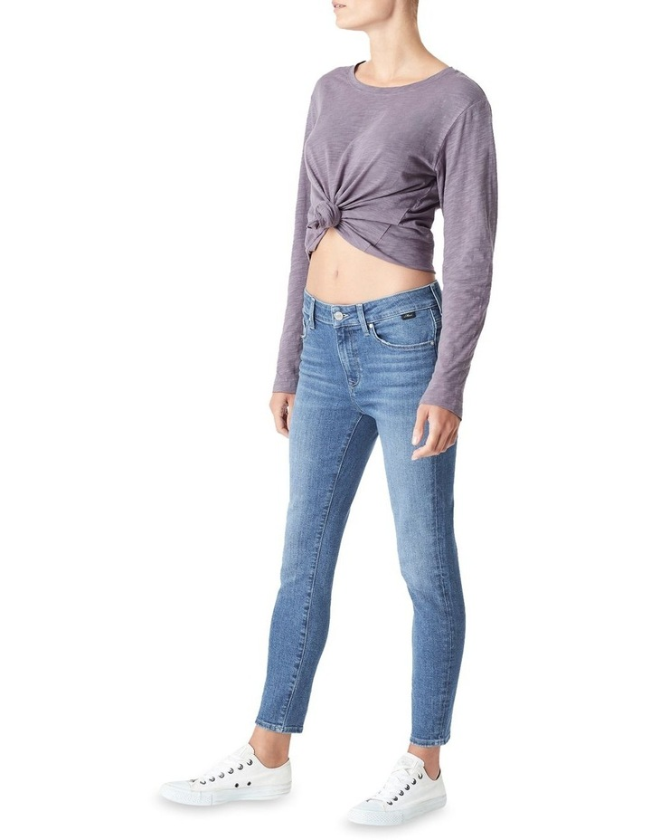 Tess High Rise Skinny Ankle Jean image 2