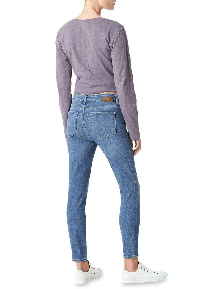 Tess High Rise Skinny Ankle Jean image 3