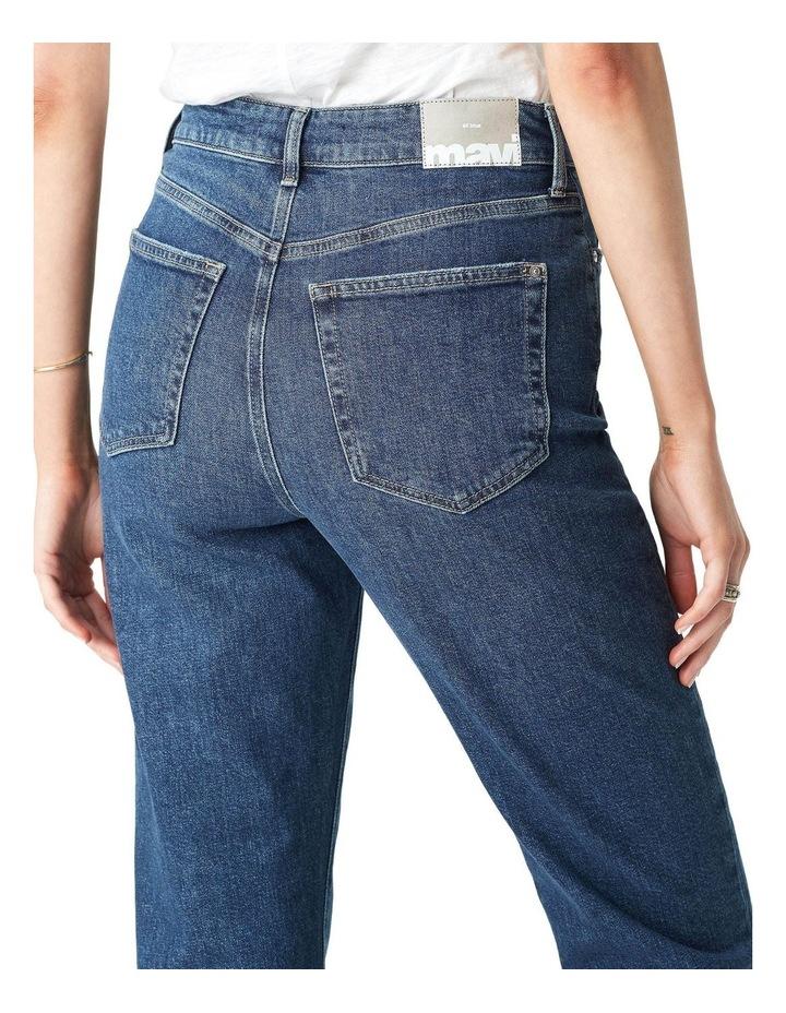 Star High Rise Mom Jean image 5