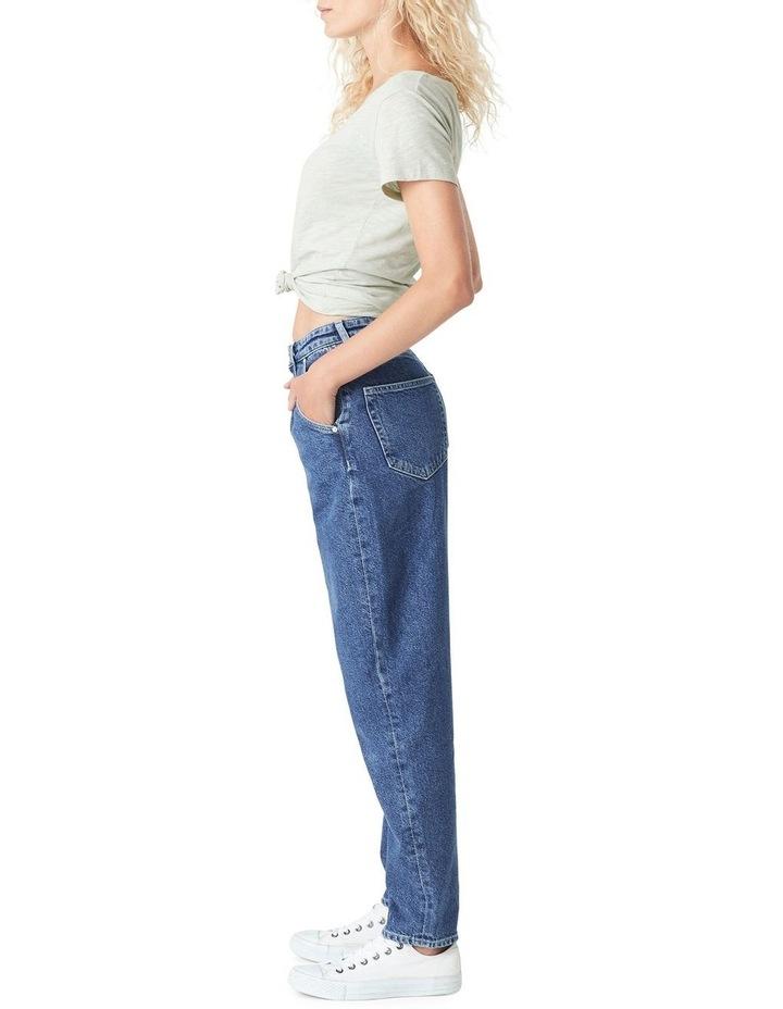Laura High Rise Baggy Boyfriend Jean image 2
