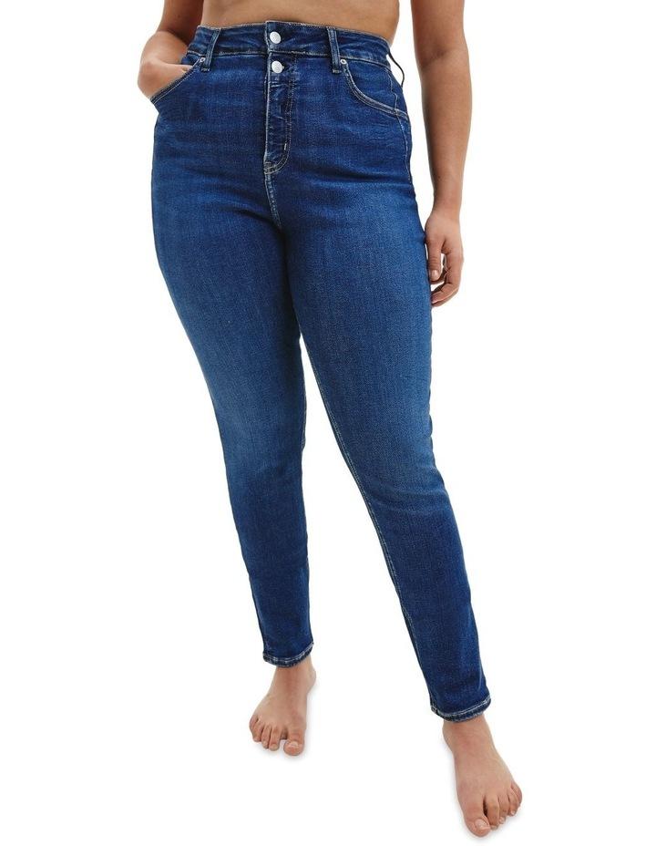 High Rise Skinny Plus Jean image 1