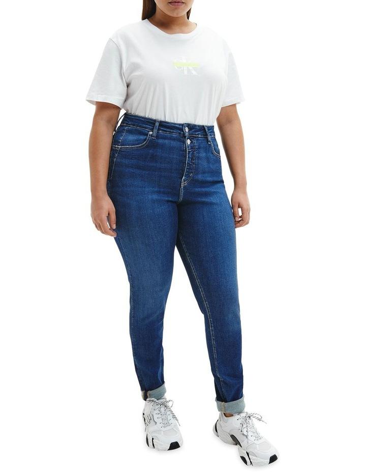 High Rise Skinny Plus Jean image 2