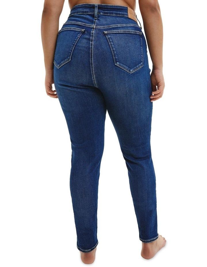High Rise Skinny Plus Jean image 3