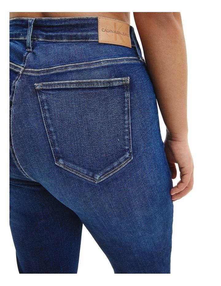 High Rise Skinny Plus Jean image 4
