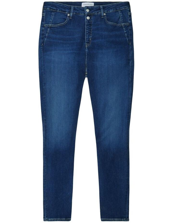 High Rise Skinny Plus Jean image 5