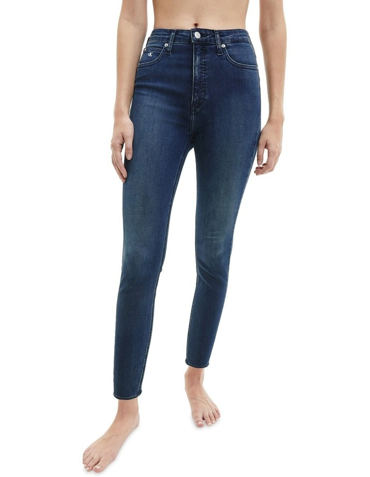 High Rise Super Skinny Ankle Jean image 1