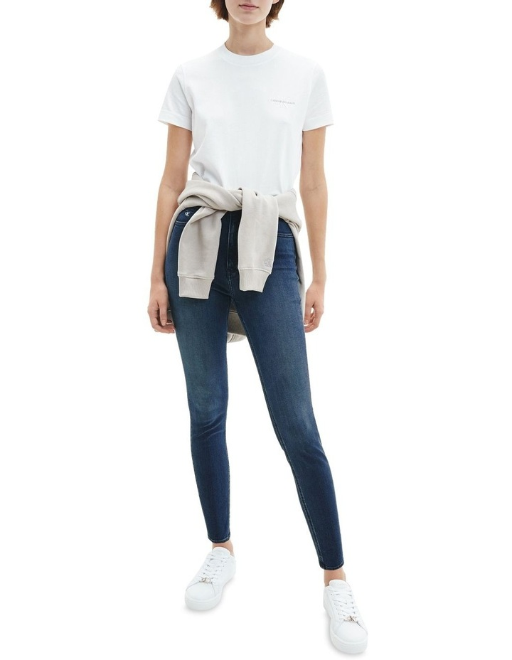High Rise Super Skinny Ankle Jean image 2