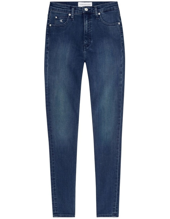 High Rise Super Skinny Ankle Jean image 5