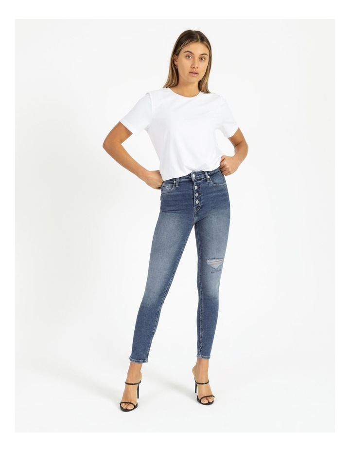 High Rise Skinny Ankle Jean image 2