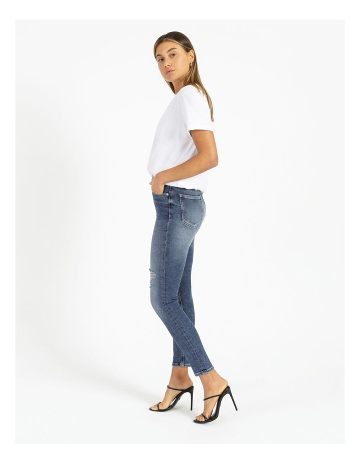 High Rise Skinny Ankle Jean image 3
