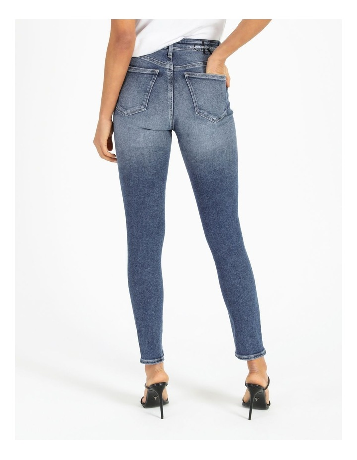 High Rise Skinny Ankle Jean image 4
