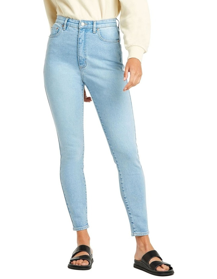 Hourglass High Licks Crop Jeans image 1