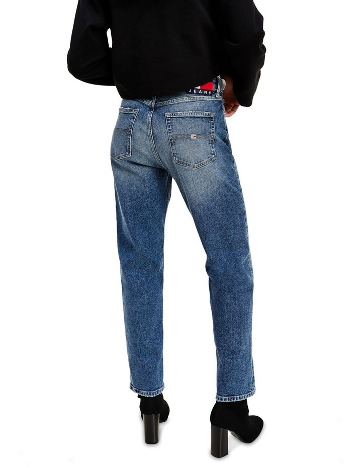 Harper High Rise Straight Ankle Jean image 3