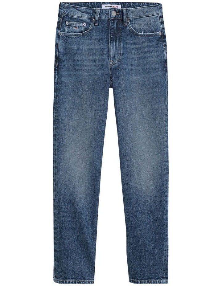 Harper High Rise Straight Ankle Jean image 4