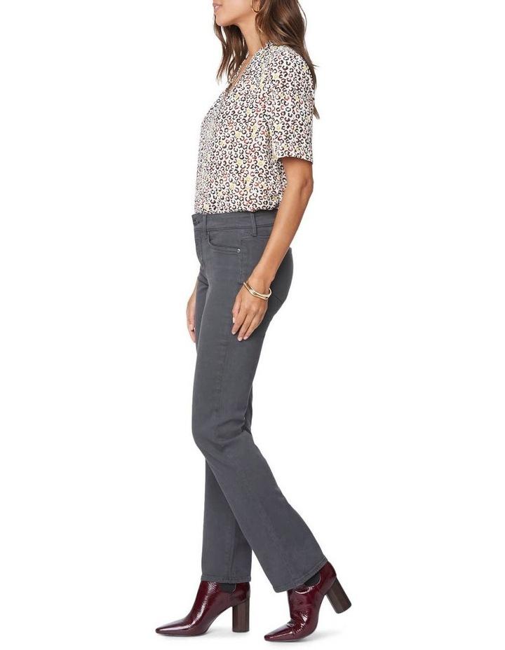 Marilyn Vintage Pewter Straight Leg Jean image 2