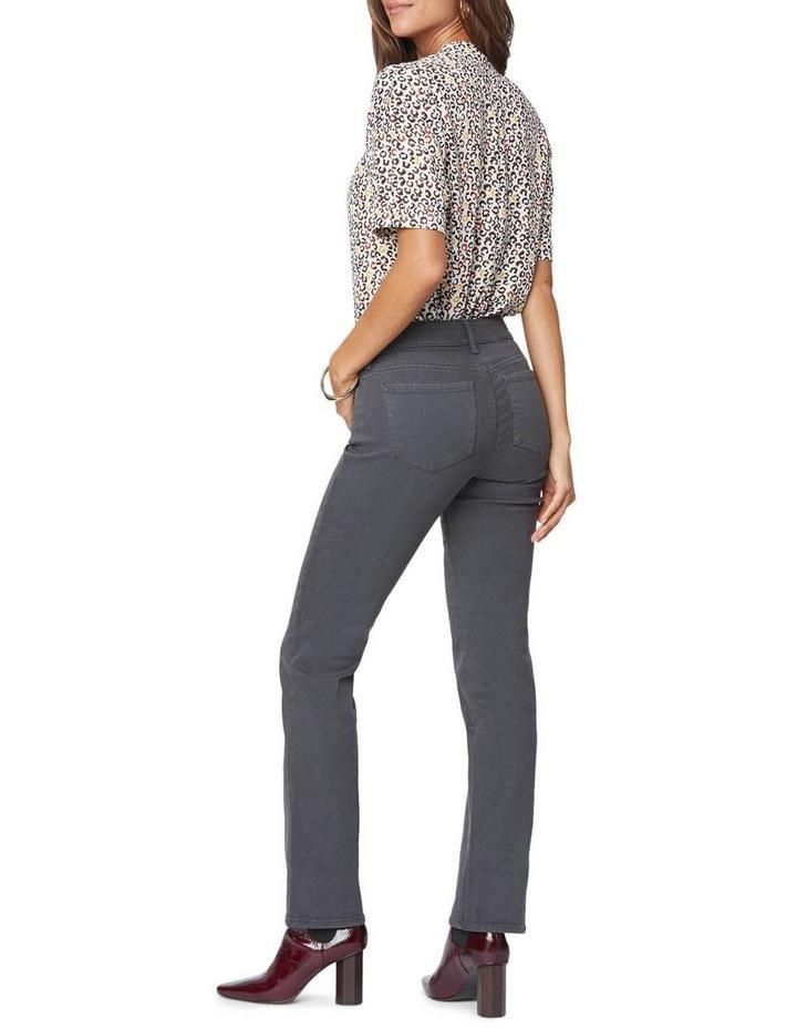 Marilyn Vintage Pewter Straight Leg Jean image 3