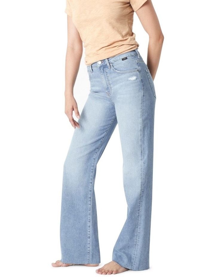 Victoria Light Shaded '90s Blue Wide Leg Jean image 1