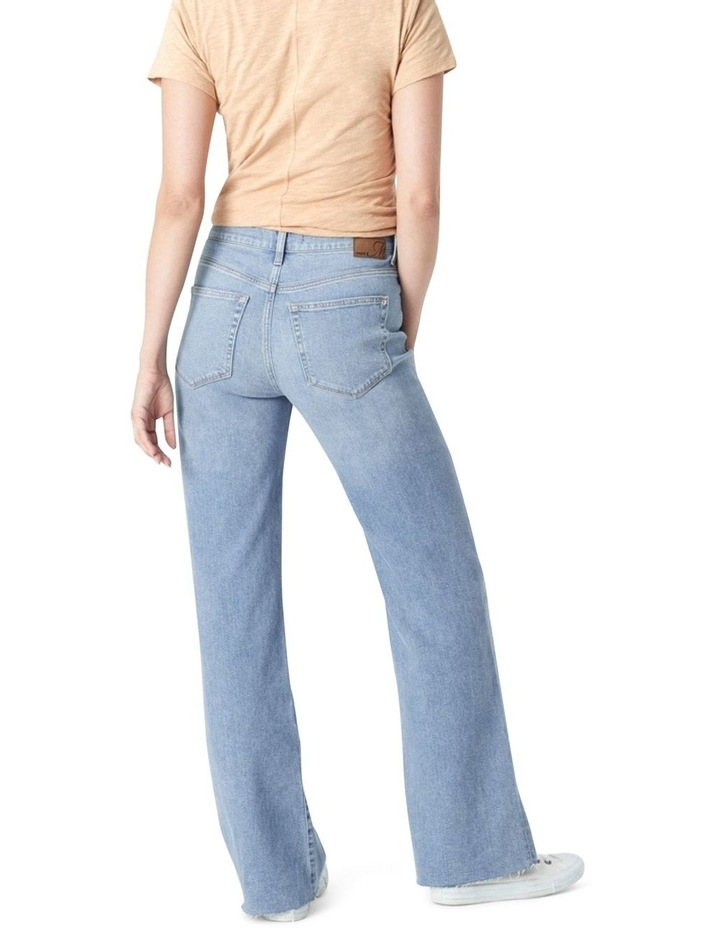 Victoria Light Shaded '90s Blue Wide Leg Jean image 2