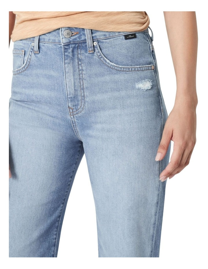 Victoria Light Shaded '90s Blue Wide Leg Jean image 3