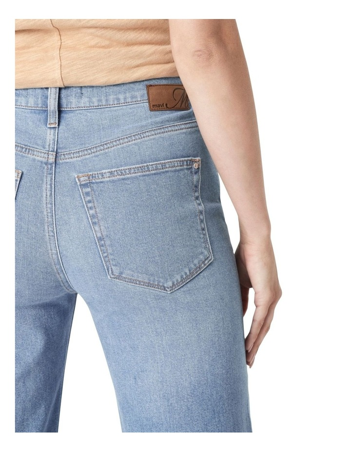 Victoria Light Shaded '90s Blue Wide Leg Jean image 4