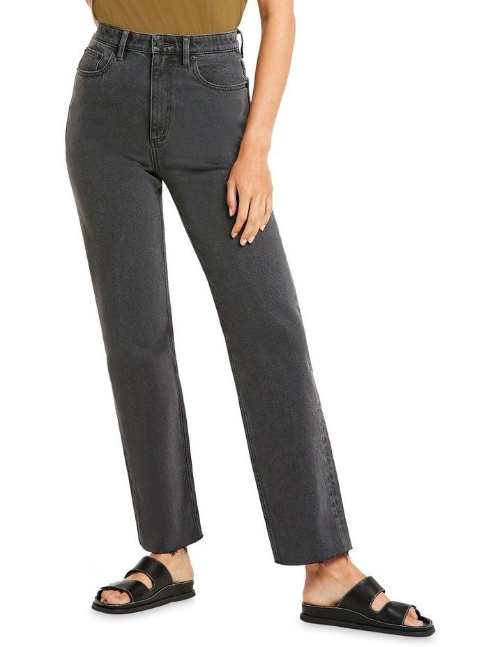 High 80 Black Vintage Black Vintage Straight Leg Jean image 1