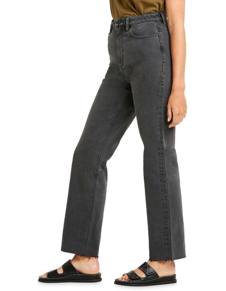 High 80 Black Vintage Black Vintage Straight Leg Jean image 2