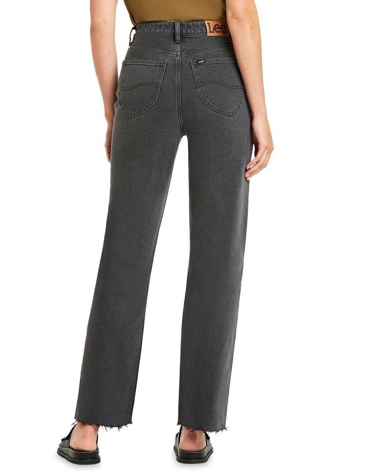 High 80 Black Vintage Black Vintage Straight Leg Jean image 4