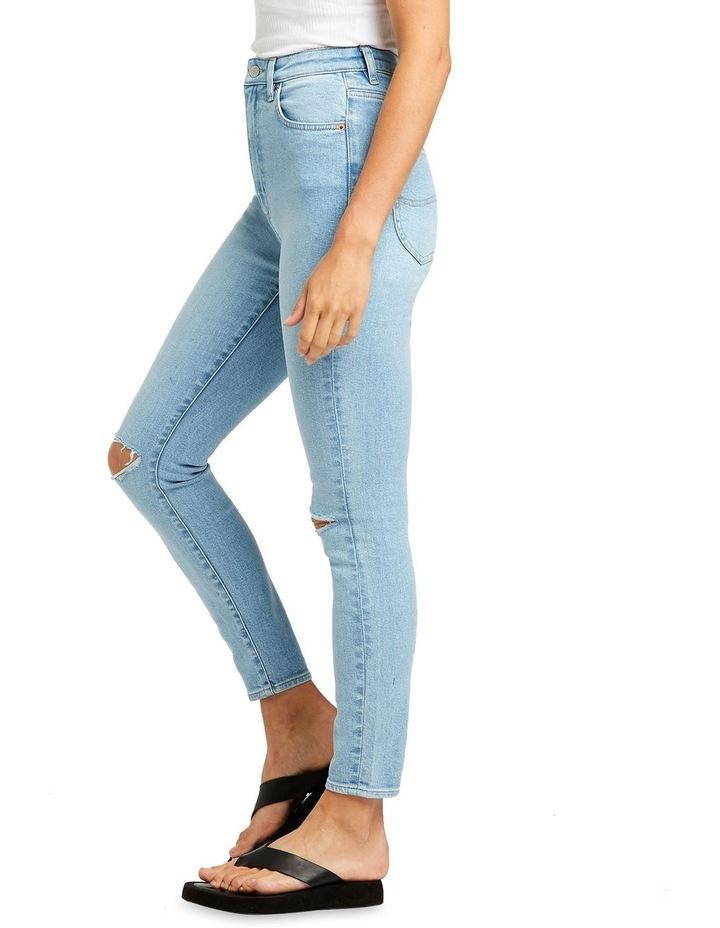High Licks Crop Optimal Destruct Skinny Jean image 2