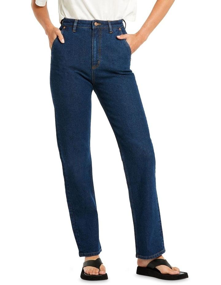 High 80 Capital Rinse Straight Leg Jean image 1
