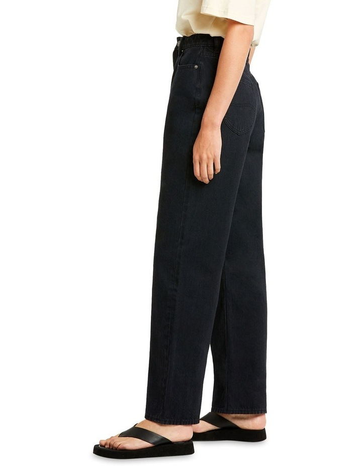High Baggy Champion Black Relaxed Fit Jean image 2