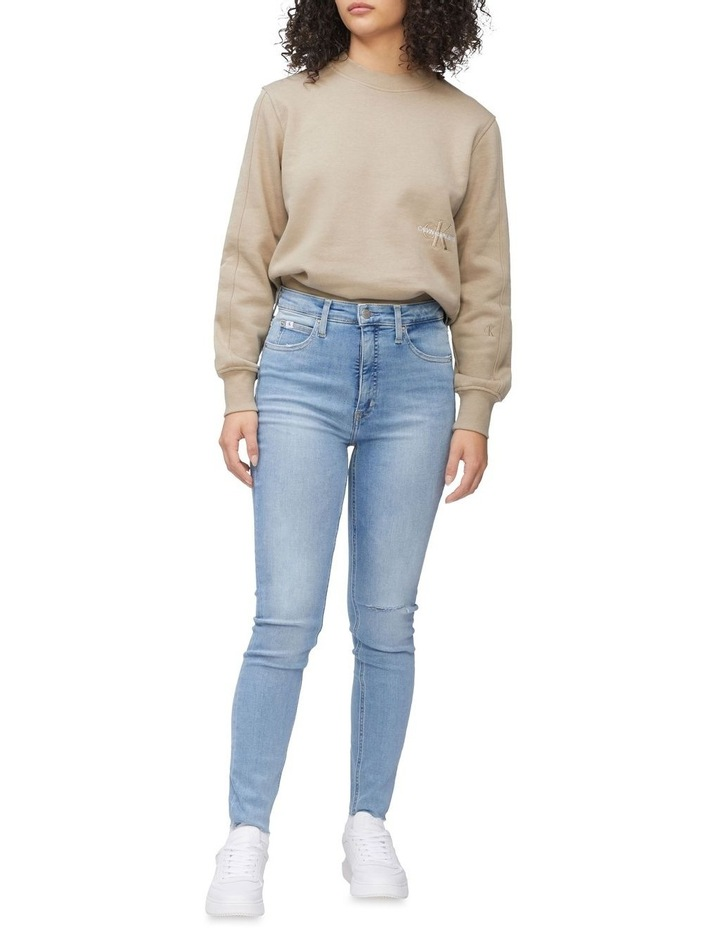 High Rise Super Skinny Ankle Jeans image 1