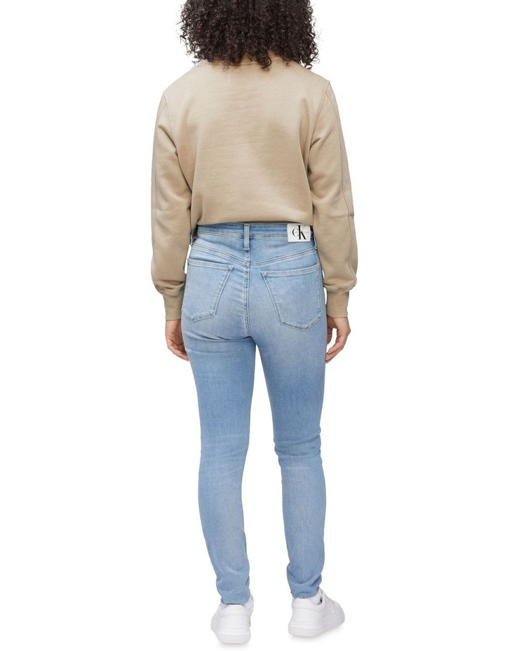High Rise Super Skinny Ankle Jeans image 2